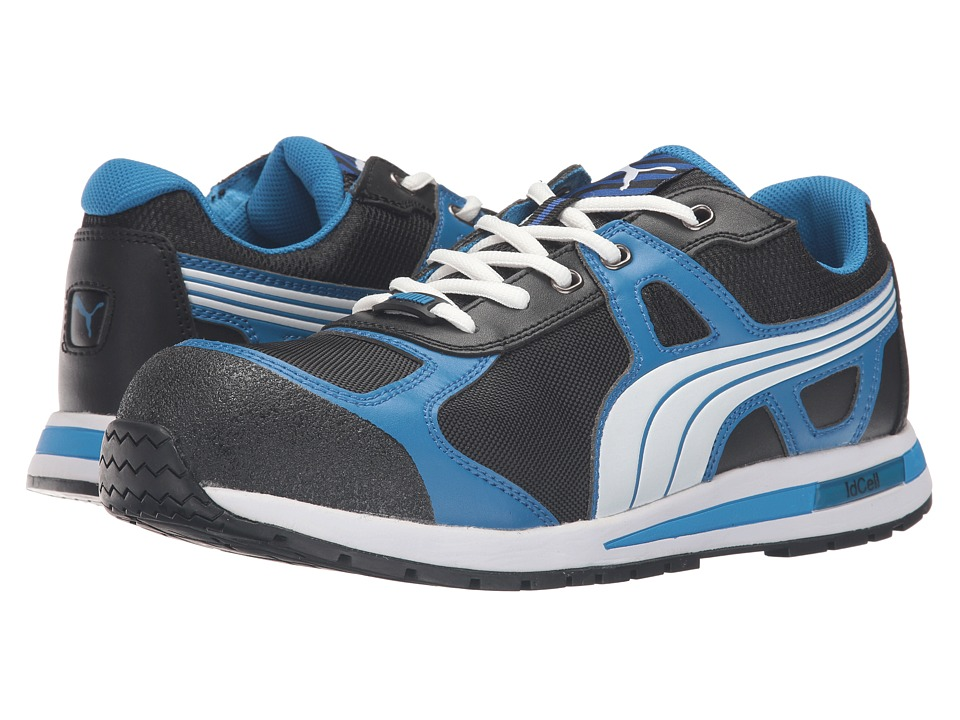 PUMA Safety - Aerial Low (Blue/Black) Mens Work Boots