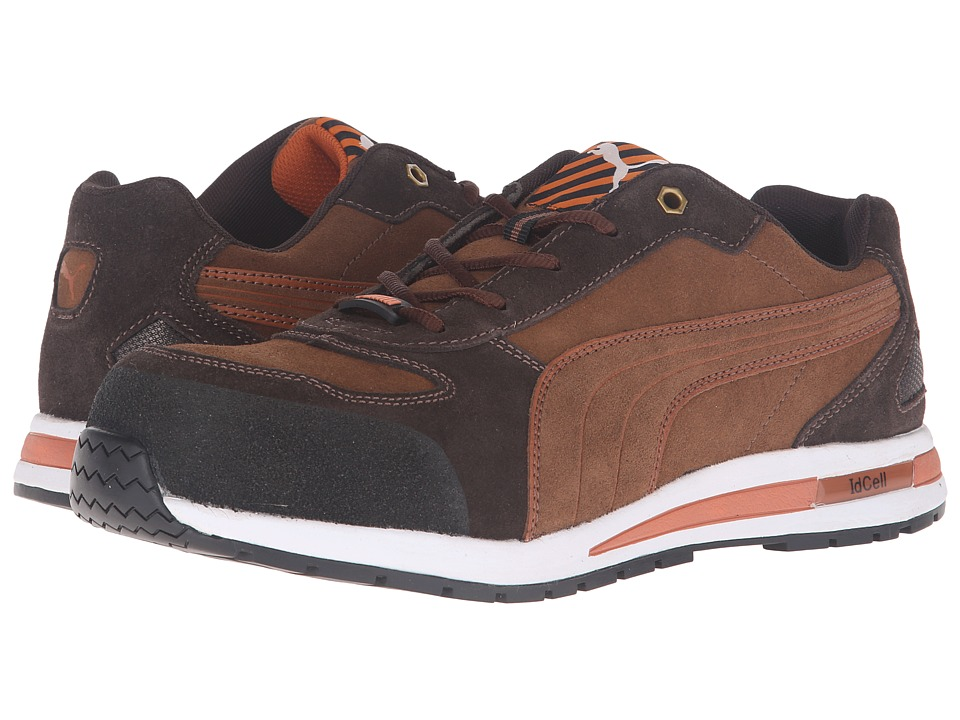 PUMA Safety - Barani Low EH (Brown) Mens Work Boots