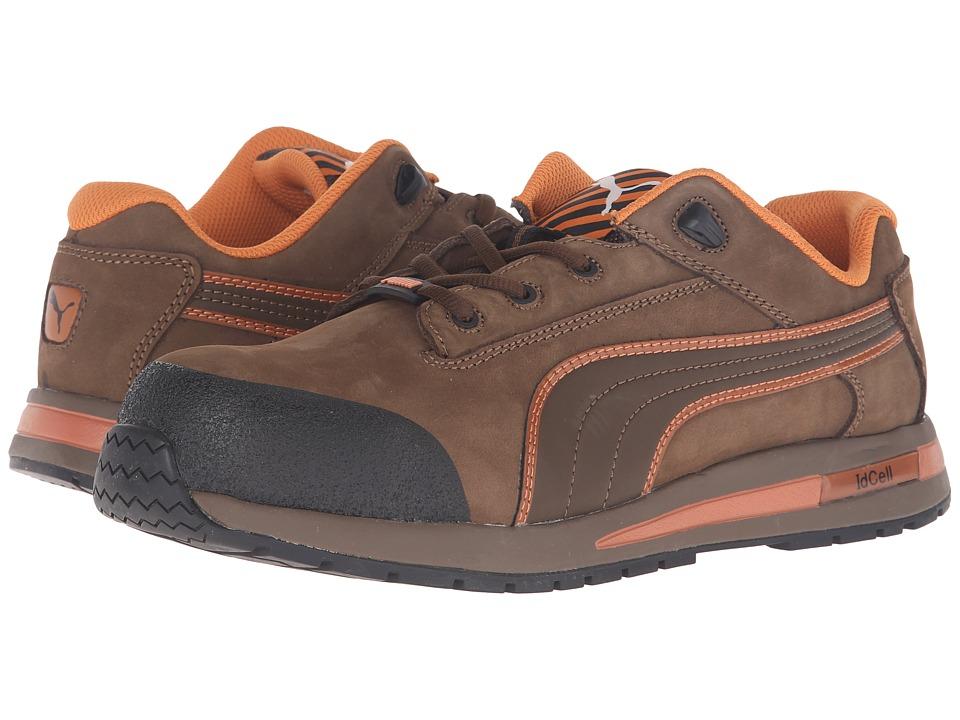 PUMA Safety - Dash Low EH (Brown) Men's Work Boots