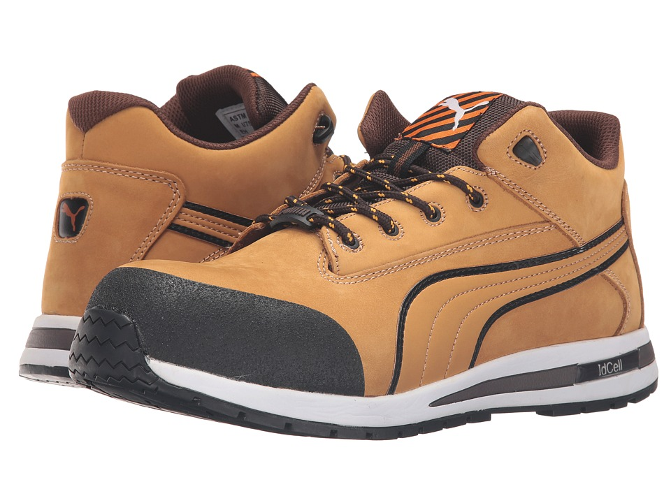 PUMA Safety - Dash Mid EH (Tan) Men's Work Boots