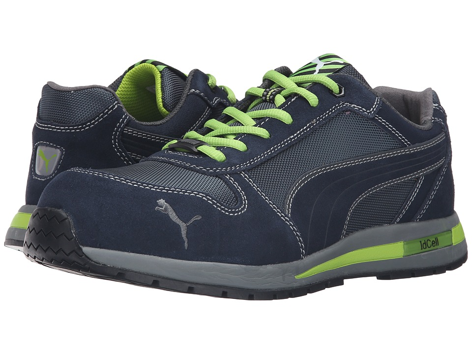 PUMA Safety - Airtwist Low (Blue/Green) Mens Work Boots