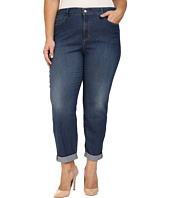 NYDJ Plus Size - Plus Size Sylvia Relaxed Boyfriend Jeans in Cleveland
