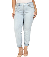 NYDJ Plus Size - Plus Size Sylvia Relaxed Boyfriend Jeans in Nice Wash