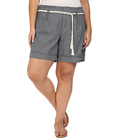 NYDJ Plus Size - Plus Size Layla Shorts in Navy