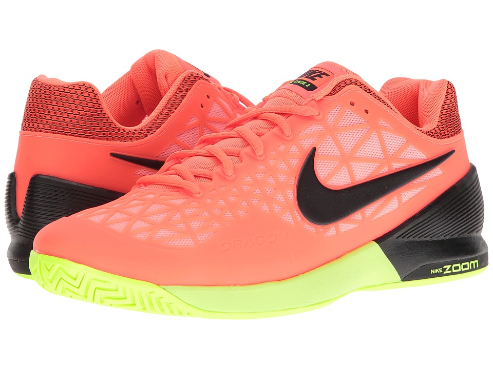 Nike Zoom Cage 2 (Hyper Orange/Black/Lava Glow/Volt) Men