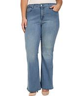 NYDJ Plus Size - Plus Size Farrah Flared Jeans in Monaco