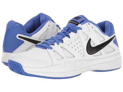 Nike Air Vapor Advantage - White/Black/Medium Blue/Black
