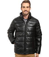 Tommy Hilfiger - Quilted Faux Leather Puffer Jacket