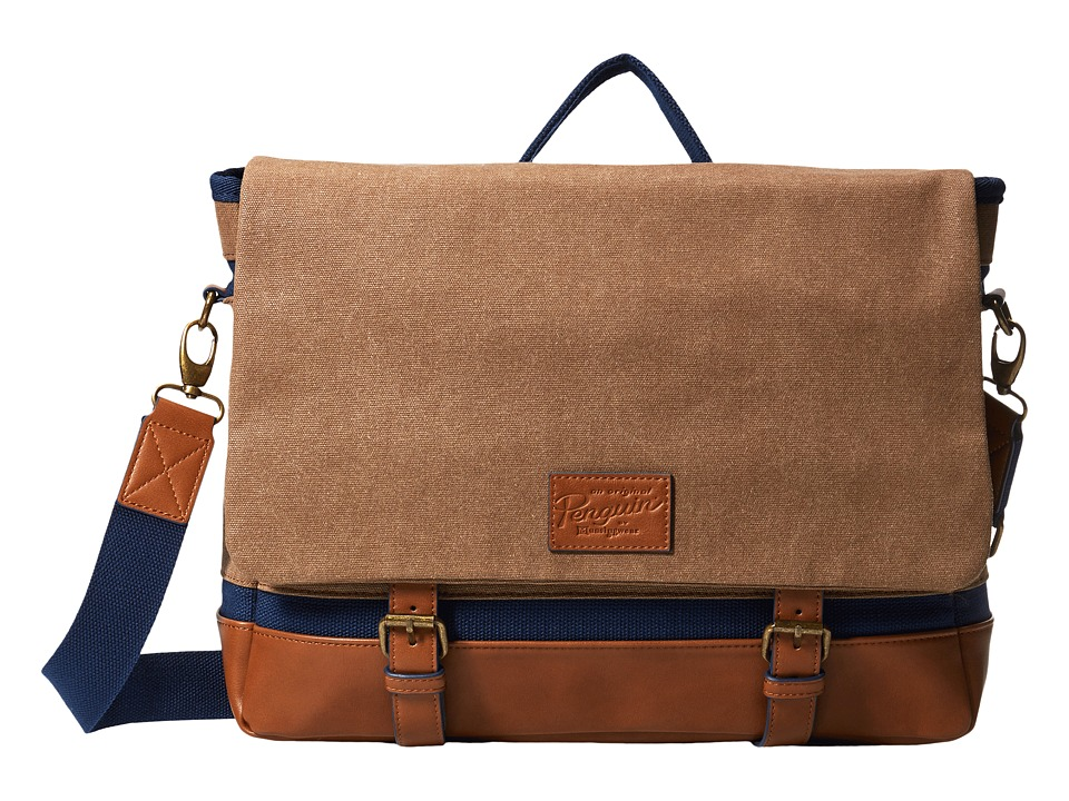 Original Penguin - Canvas Bag (Rubber) Bags