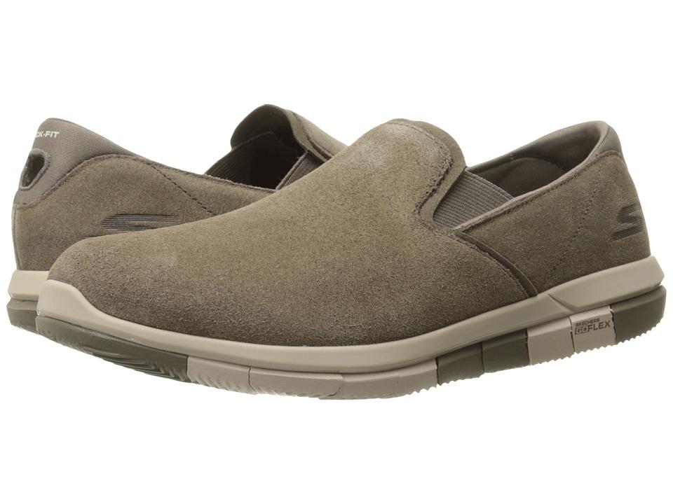SKECHERS Performance - Go Flex - Comrade (Khaki) Mens  Shoes