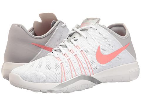 Nike Free TR 6 - White/Bright Melon/Wolf Grey