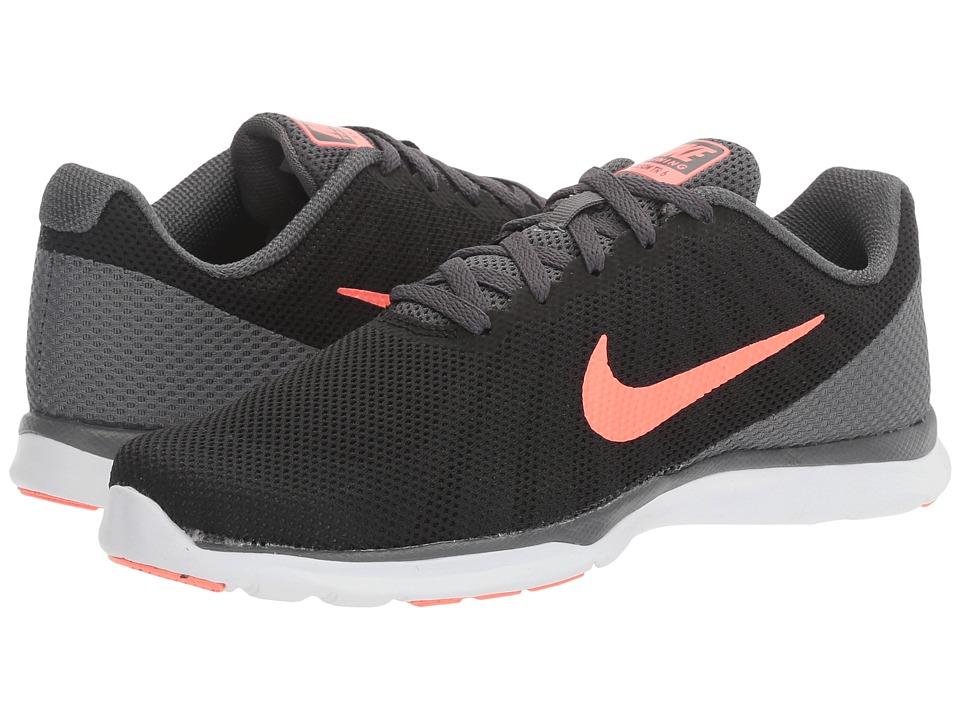 Nike - In-Season TR 6 (Black/Lava Glow/Dark Grey/White) Womens Cross Training Shoes