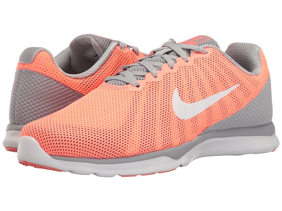 Nike - In-Season TR 6 (600 Lava Glow/White/Wolf Grey/Cool Grey) Womens Cross Training Shoes