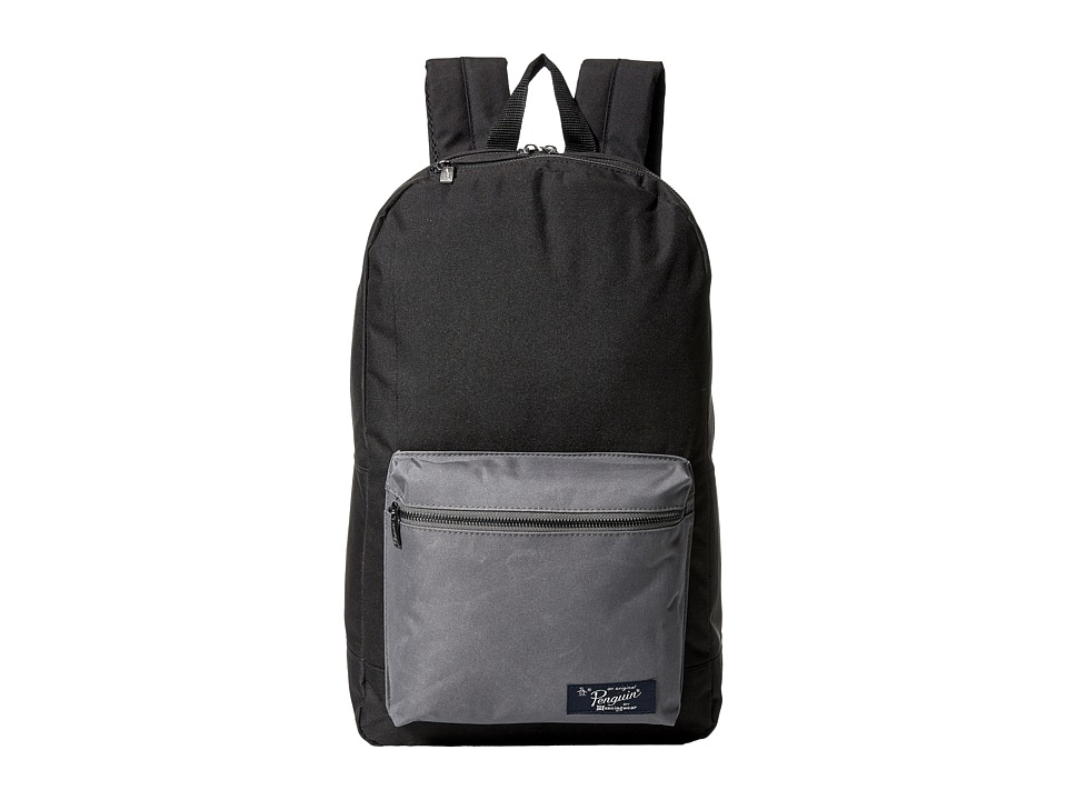 Original Penguin - Core Backpack (True Black) Backpack Bags