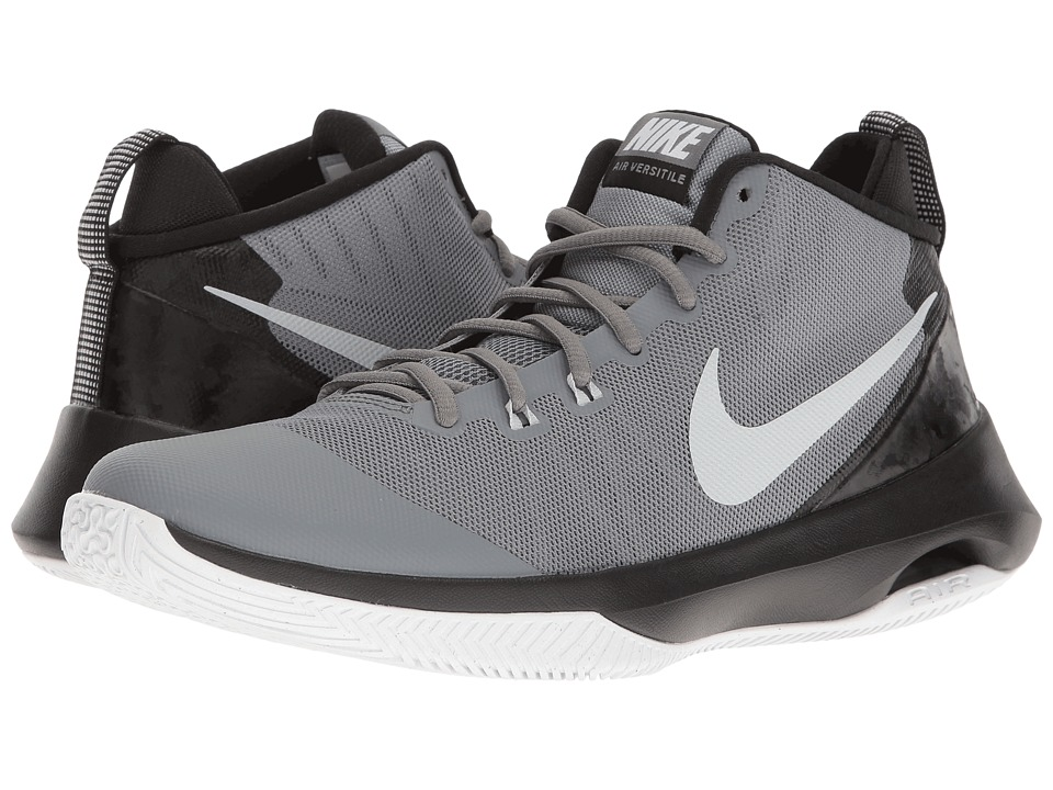 Nike - Air Versatile (Cool Grey/Pure Platinum/Wolf Grey/Black) Mens Basketball Shoes