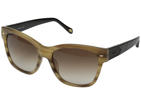 Fossil 2040/S - Shell Beige/Brown Gradient Lens