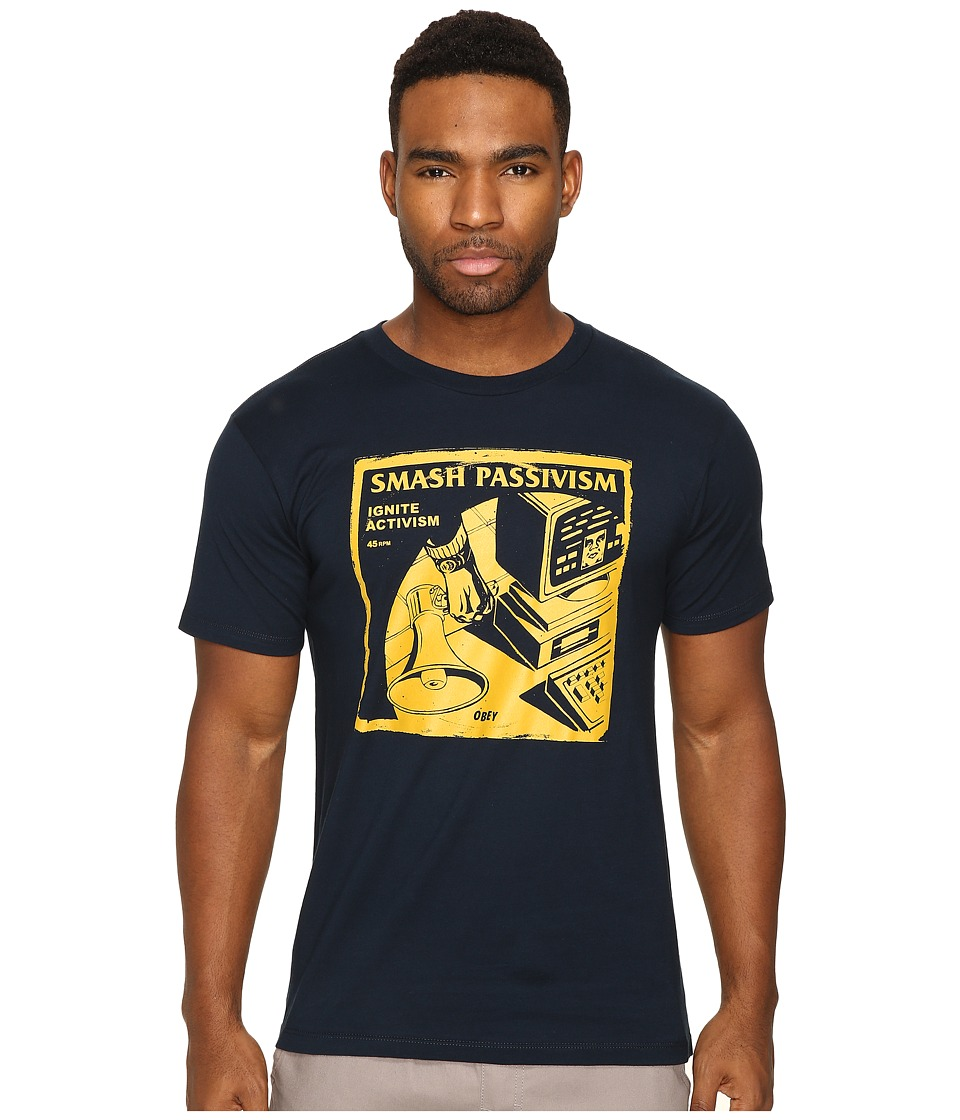 Obey Smash Passivism (Navy) Men