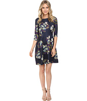 Christin Michaels - Emellie 3/4 Sleeve Fit and Flare Dress