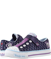 SKECHERS KIDS - Twinkle Toes - Sparkly Jewels 10689L Lights (Little Kid/Big Kid)