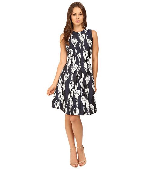 Christin Michaels Alesha Tulip Jacquard Dress