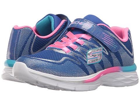 SKECHERS KIDS Dream N Dash 81131L (Little Kid/Big Kid) - Blue/Pink