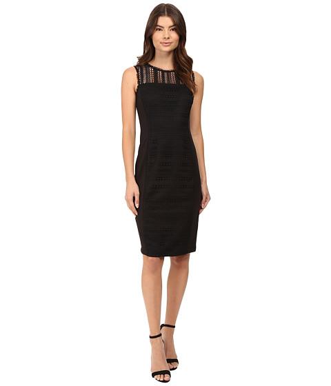 rsvp Ayanna Lace Overlay Midi Dress