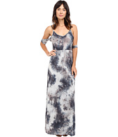 Culture Phit - Mila Tie-Dye Cold Shoulder Maxi Dress with Slit