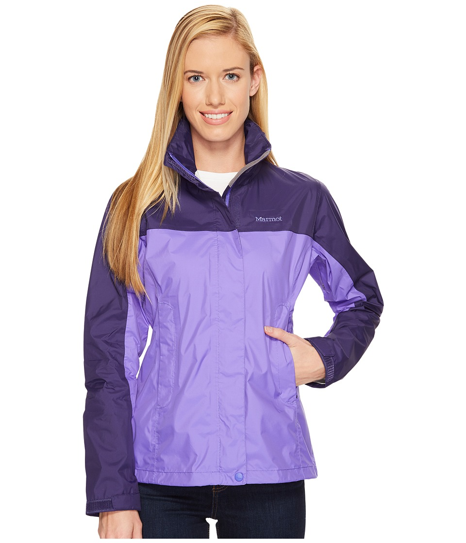 Marmot PreCip Jacket (Electric Iris/Midnight) Women