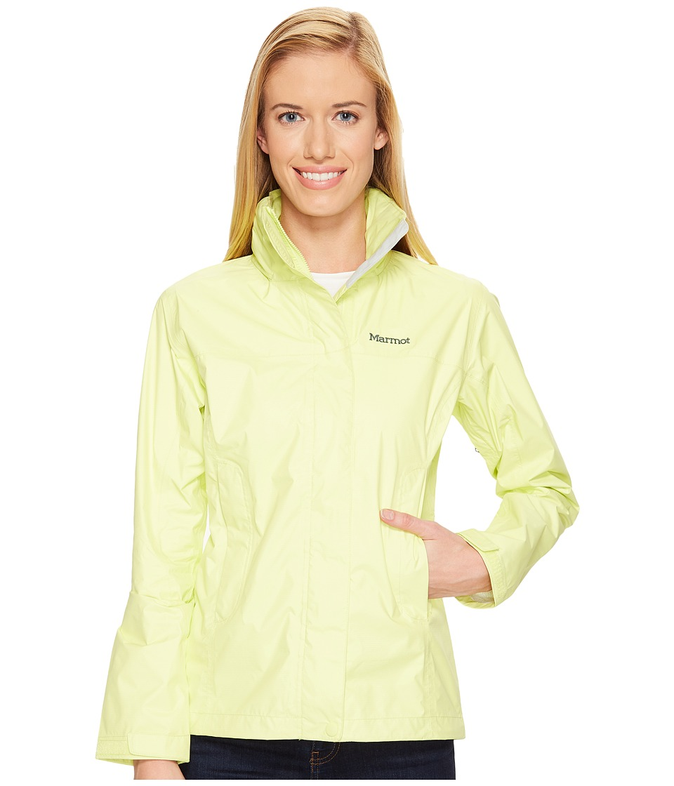 Marmot PreCip Jacket (Sunny Lime) Women