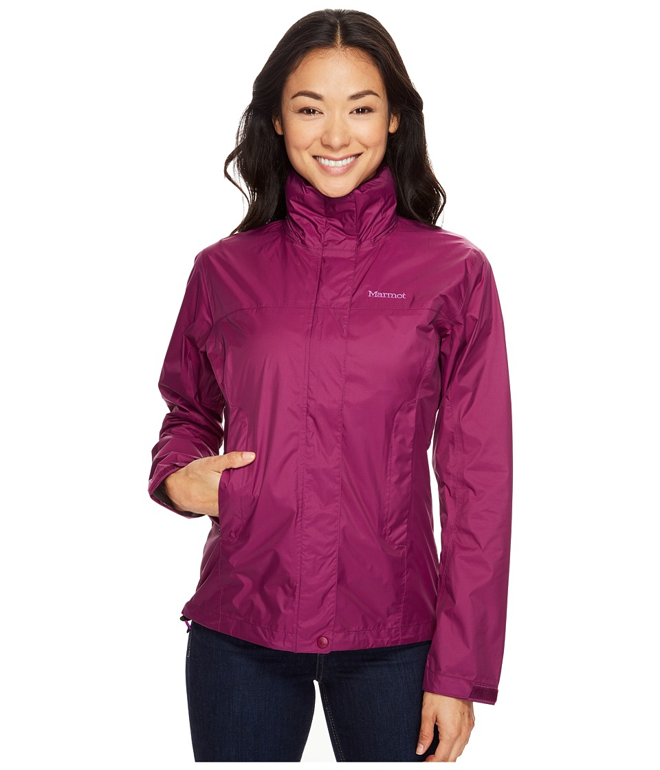 Marmot PreCip Jacket (Deep Plum) Women
