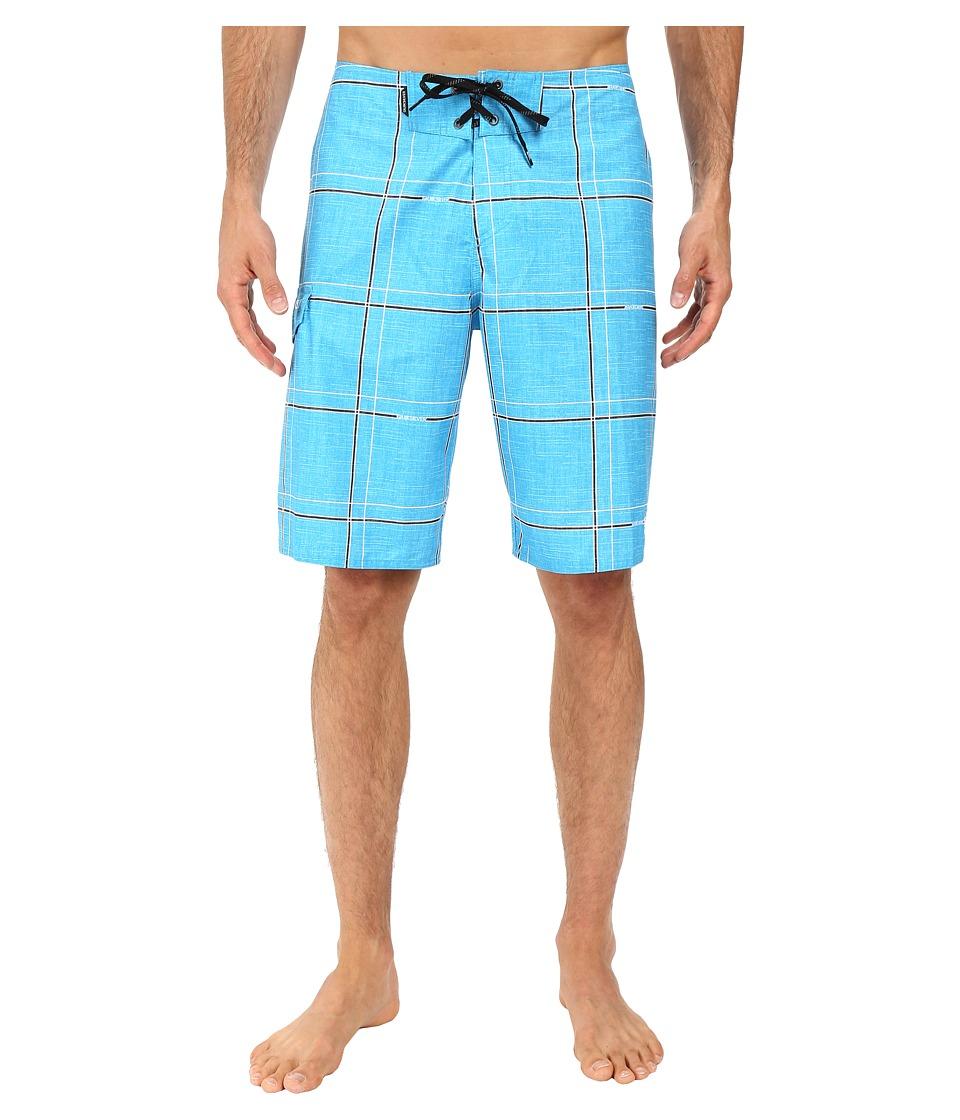 Quiksilver Electric 21 Boardshorts (Hawaiian Ocean) Men