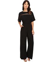 Adelyn Rae - Woven Jumpsuit w/ Kimono Sleeves