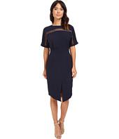 Adelyn Rae - Woven Sheath Dress w/ Kimono Sleeves
