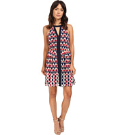 Adelyn Rae - Printed Woven Halter Dress