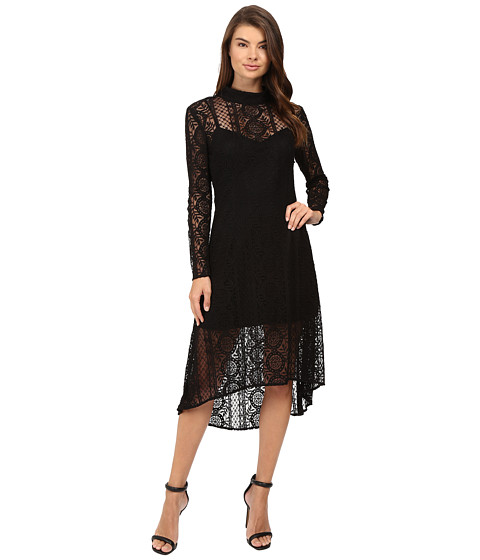 Adelyn Rae Woven Lace Maxi Dress