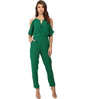 Adelyn Rae - Woven Jacquard Jumpsuit