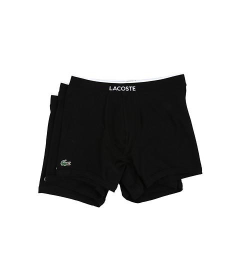 Lacoste Colours 3-Pack Boxer Brief - Black
