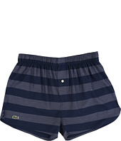 Lacoste - Authentics Wide Bar Stripe Single Woven Boxers