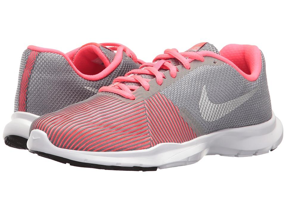 Nike Flex Bijoux (Cool Grey/Metallic Silver/Racer Pink) Women