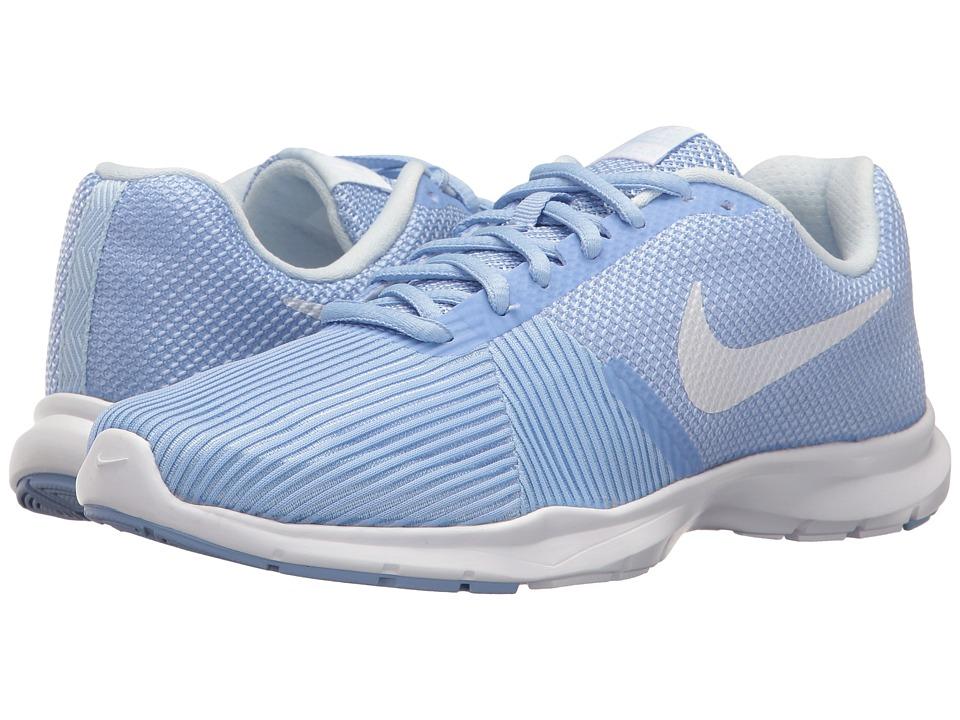 Nike Flex Bijoux (Aluminum/White/Medium Blue/Black) Women