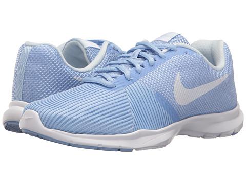 Nike Flex Bijoux - Aluminum/White/Medium Blue/Black
