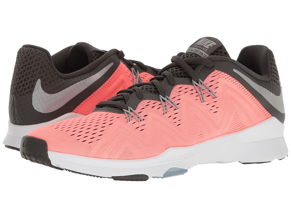 Nike - Zoom Condition TR (Lava Glow/Matte Silver/Midnight Fog) Womens Cross Training Shoes