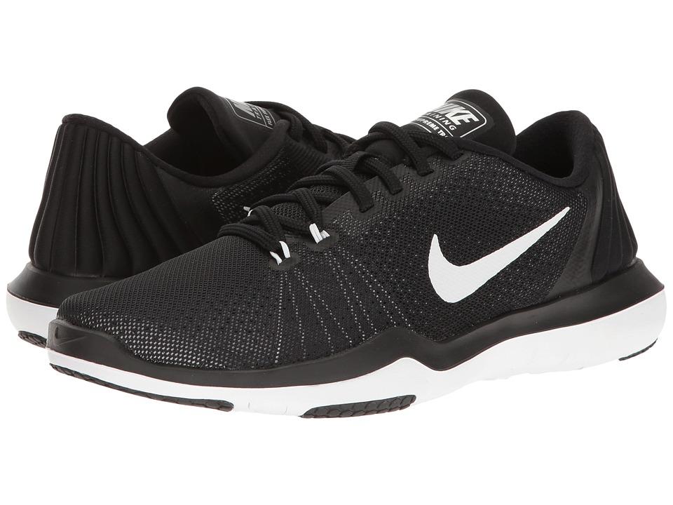 Nike Flex Supreme TR 5 (Black/White/Pure Platinum) Women