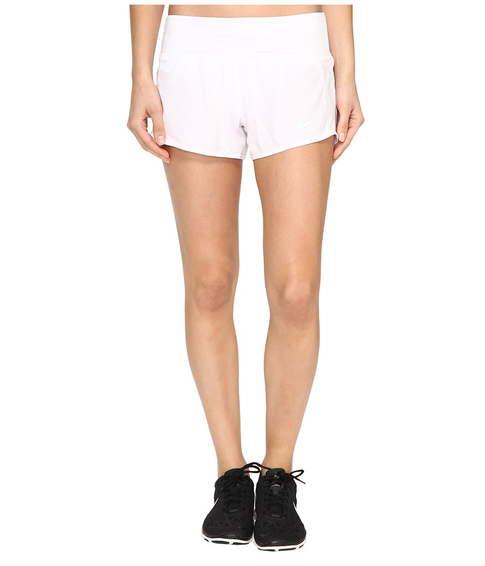 Nike Crew Shorts (White/White) Women