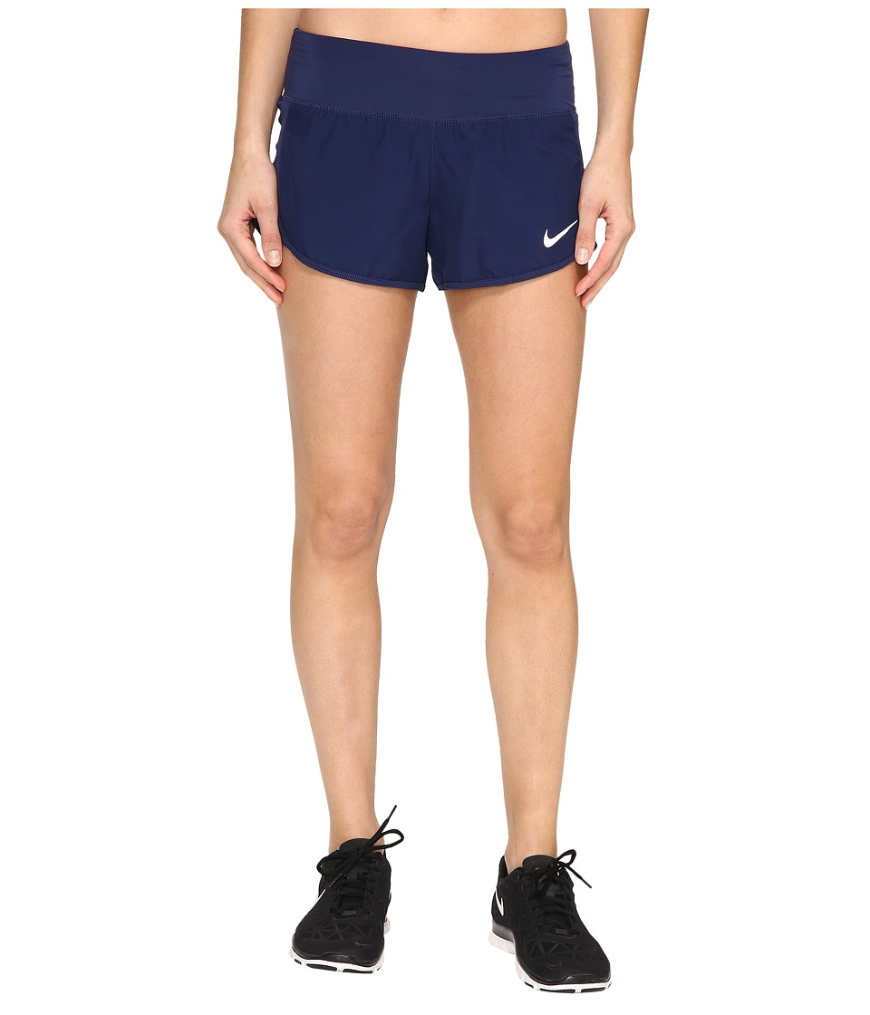 Nike Crew Shorts (Binary Blue/Binary Blue) Women