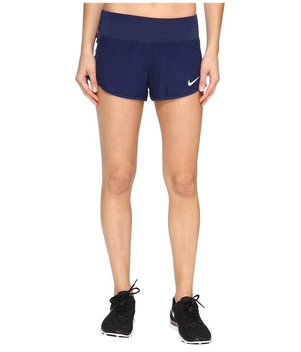 Nike Crew Shorts (Binary Blue/Binary Blue) Women