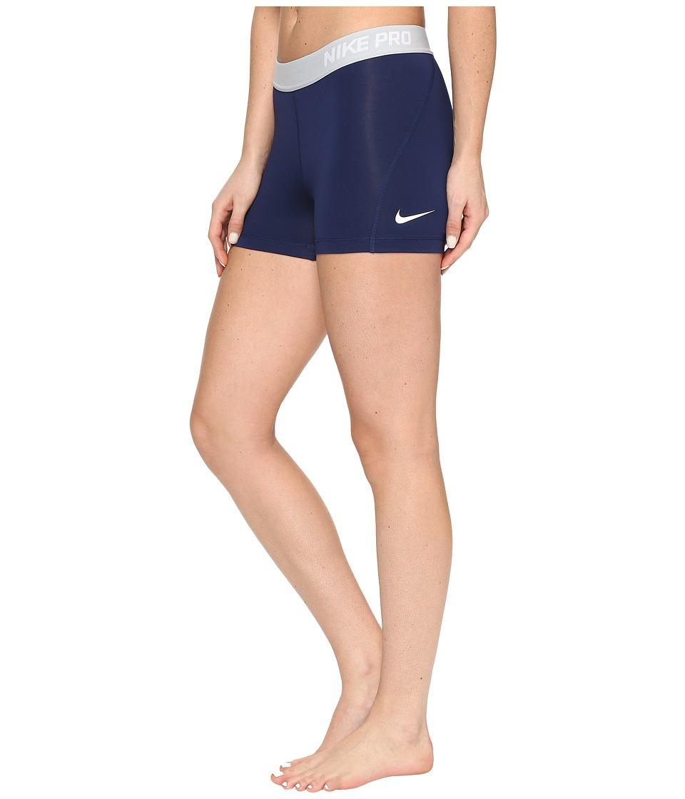 Nike Pro 3 Cool Compression Training Short (Binary Blue/White) Women