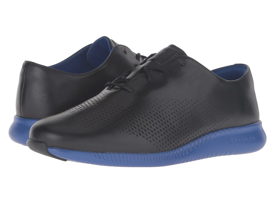Cole Haan - 2.0 Grand Laser Wing Oxford (Black/Bristol Blue Energy) Women