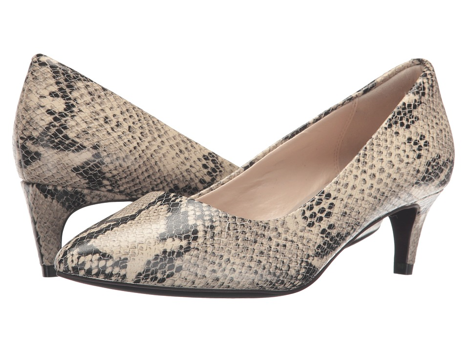 Cole Haan - Amelia Grand Pump 45mm (Roccia Snake Print) Women