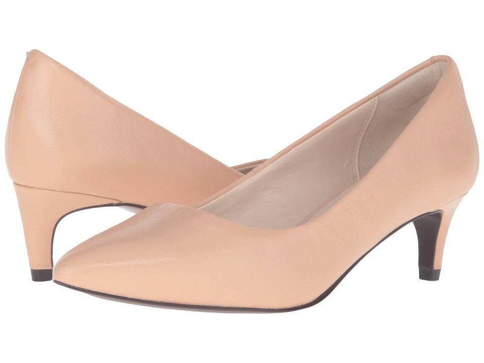 Cole Haan - Amelia Grand Pump 45mm (Nude Leather) Women